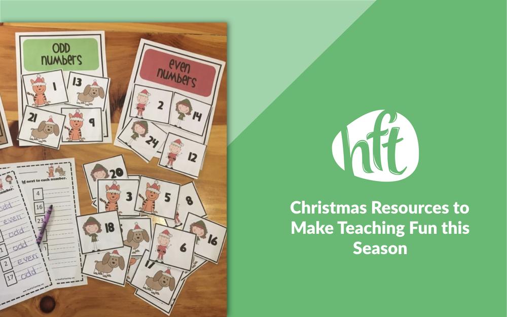 Christmas Resources To Make Teaching Fun This Season Have Fun Teaching